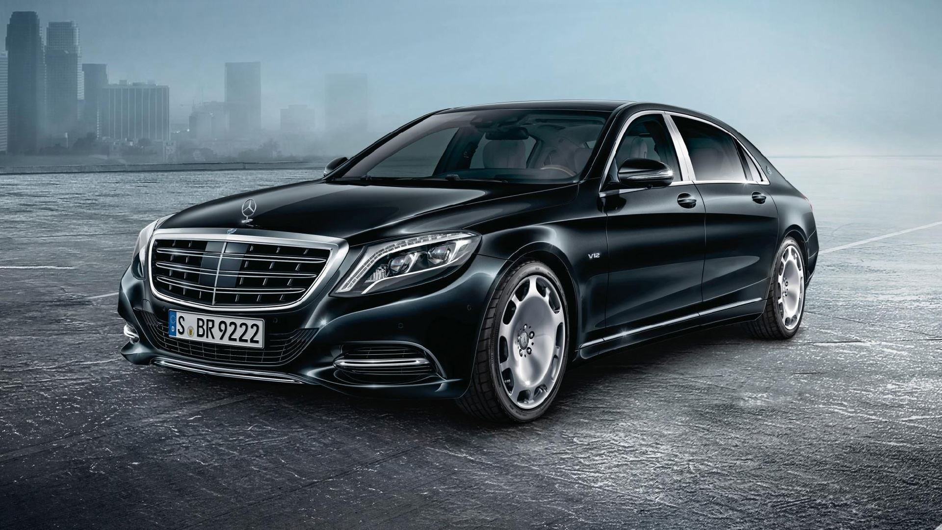 Armoured Mercedes
